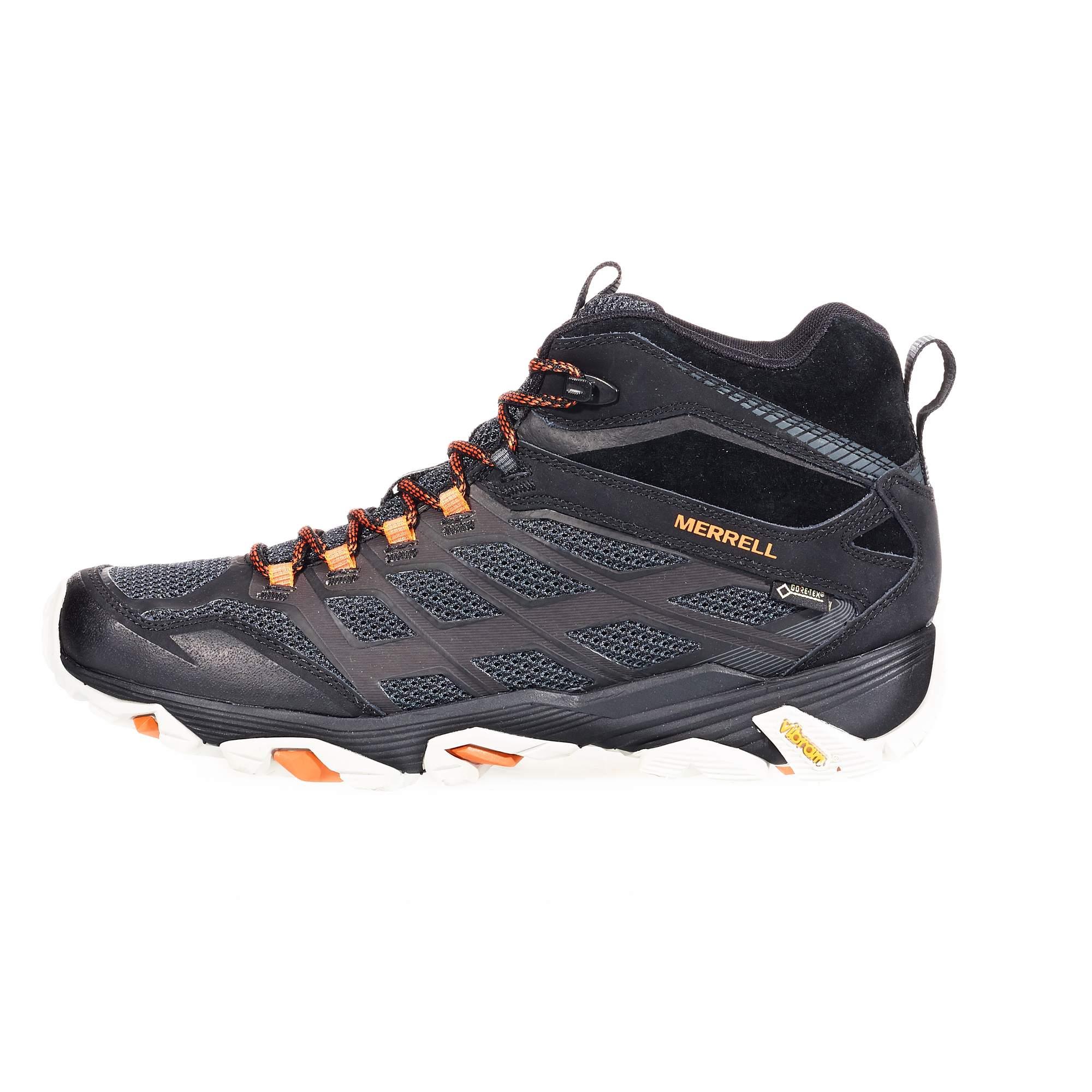Merrell Moab FST Mid GTX Damen - grau - Sportliche Hikingstiefel osOpjZ
