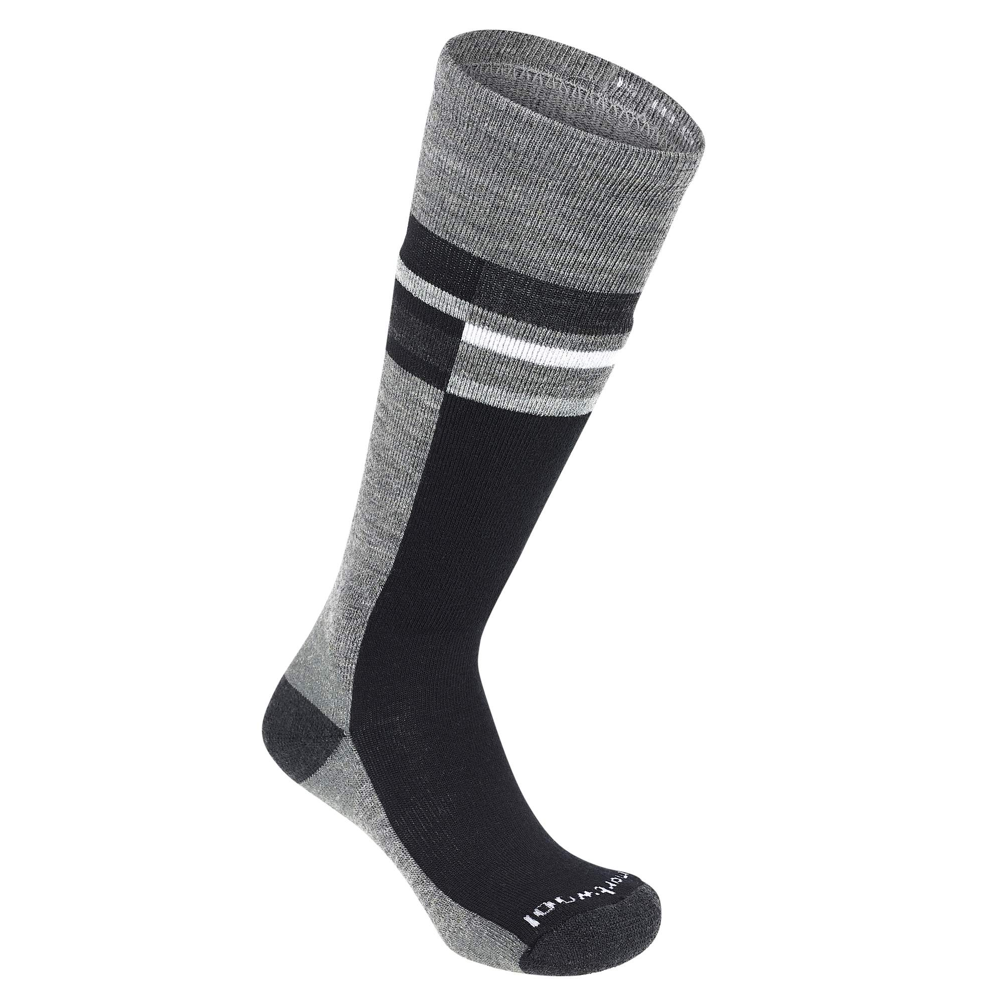 Smartwool Kids Wintersport Stripe Kinder Gr. L - Wintersocken - grau