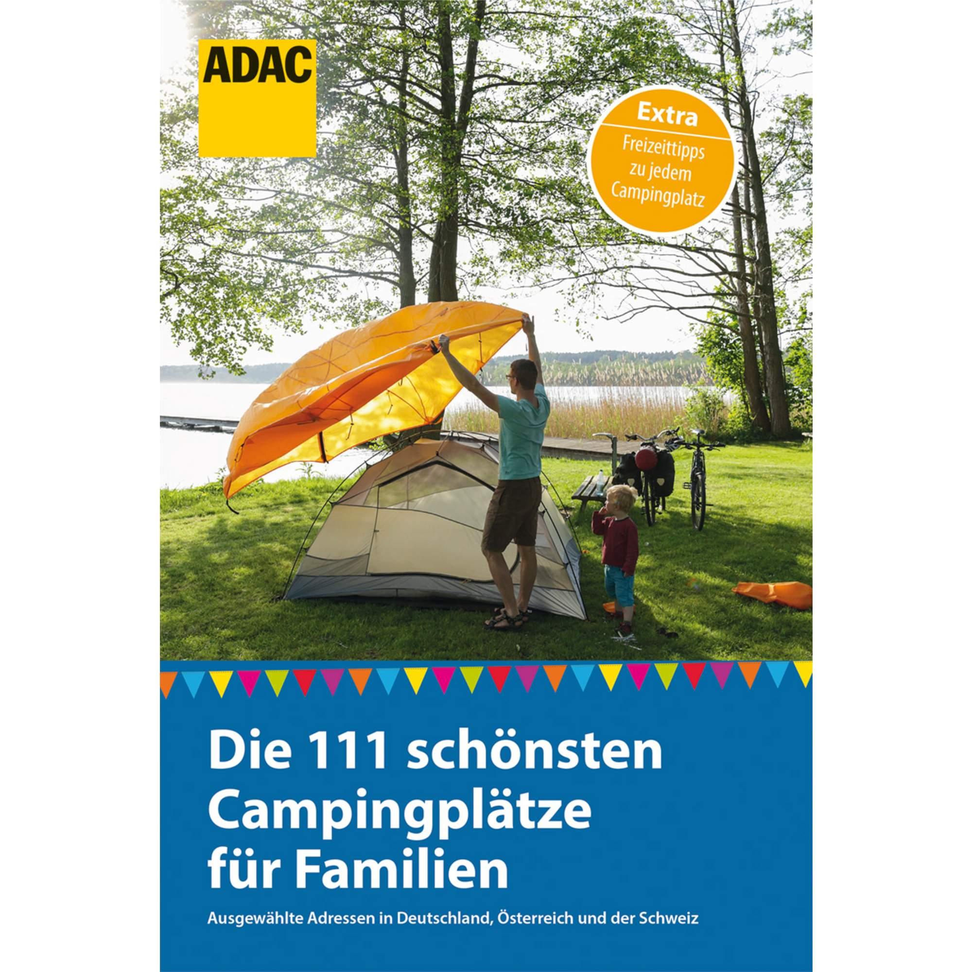 111 SCHÖNSTEN CAMPINGPLÄTZE FÜR FAMILIEN, 19,80 Euro