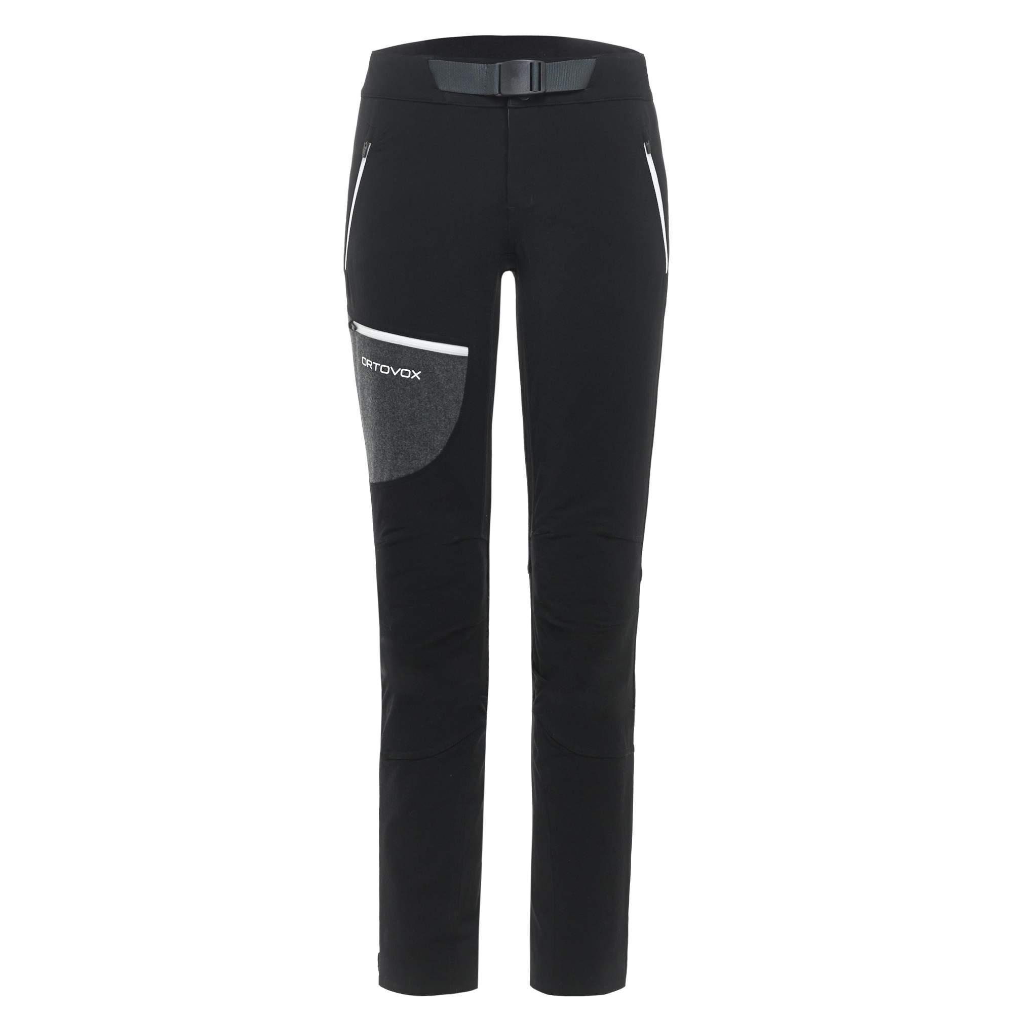 Ortovox Cevedale Pants Frauen Gr. L - Softshellhose - schwarz