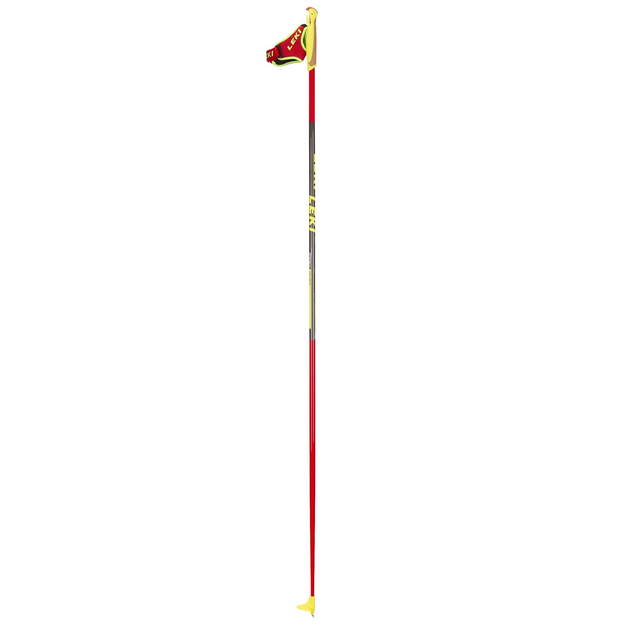 PRC 700 Langlaufstöcke neonrot 140cm