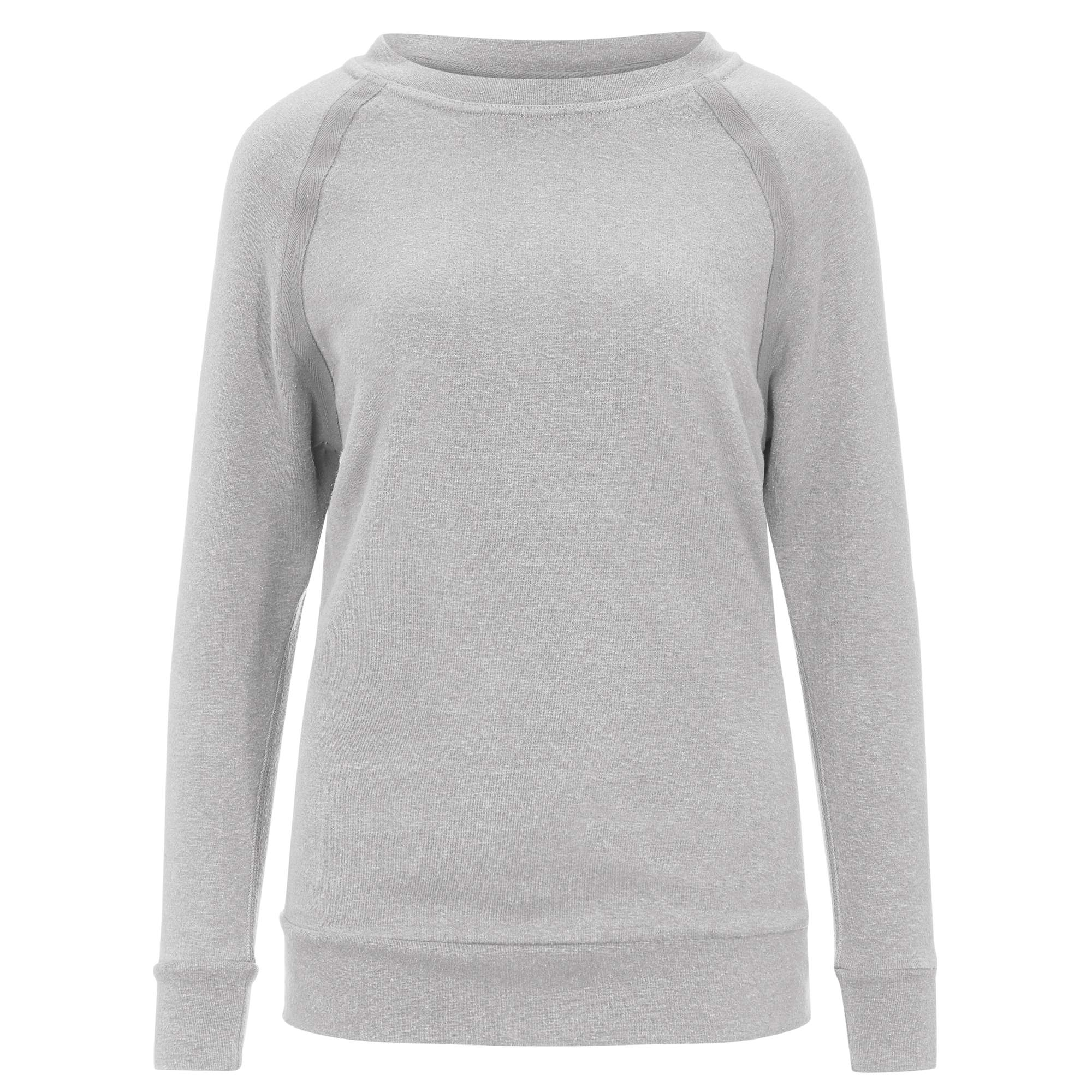Prana COZY UP SWEATSHIRT Frauen Gr. L - Sweatshirt - grau
