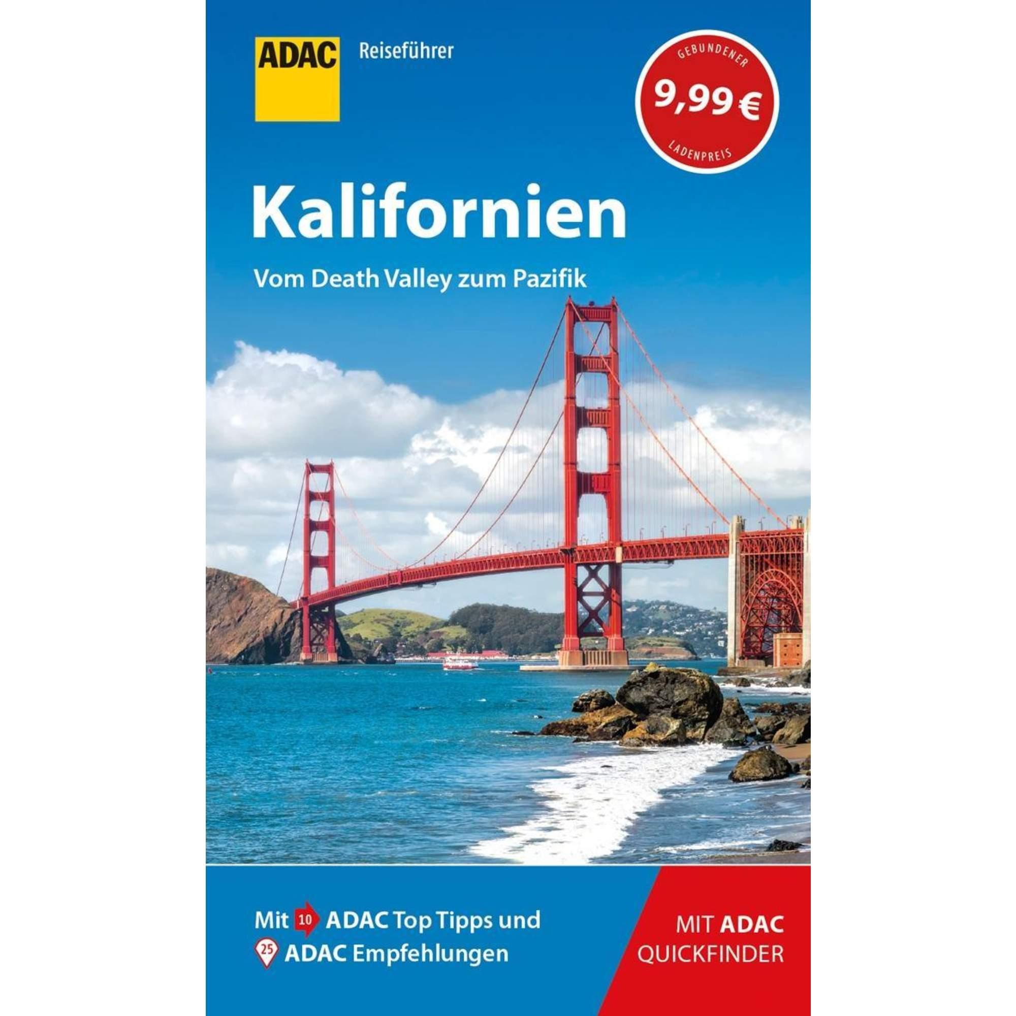 ADAC Reiseführer Kalifornien, 9,99 Euro