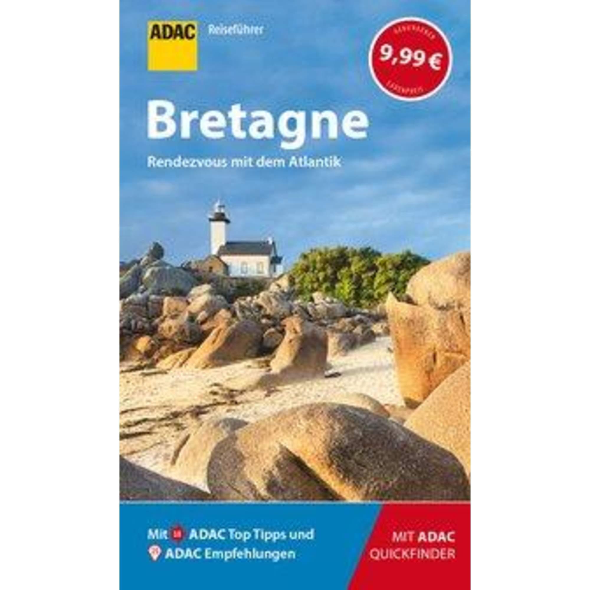 ADAC Reiseführer Bretagne, 9,99 Euro