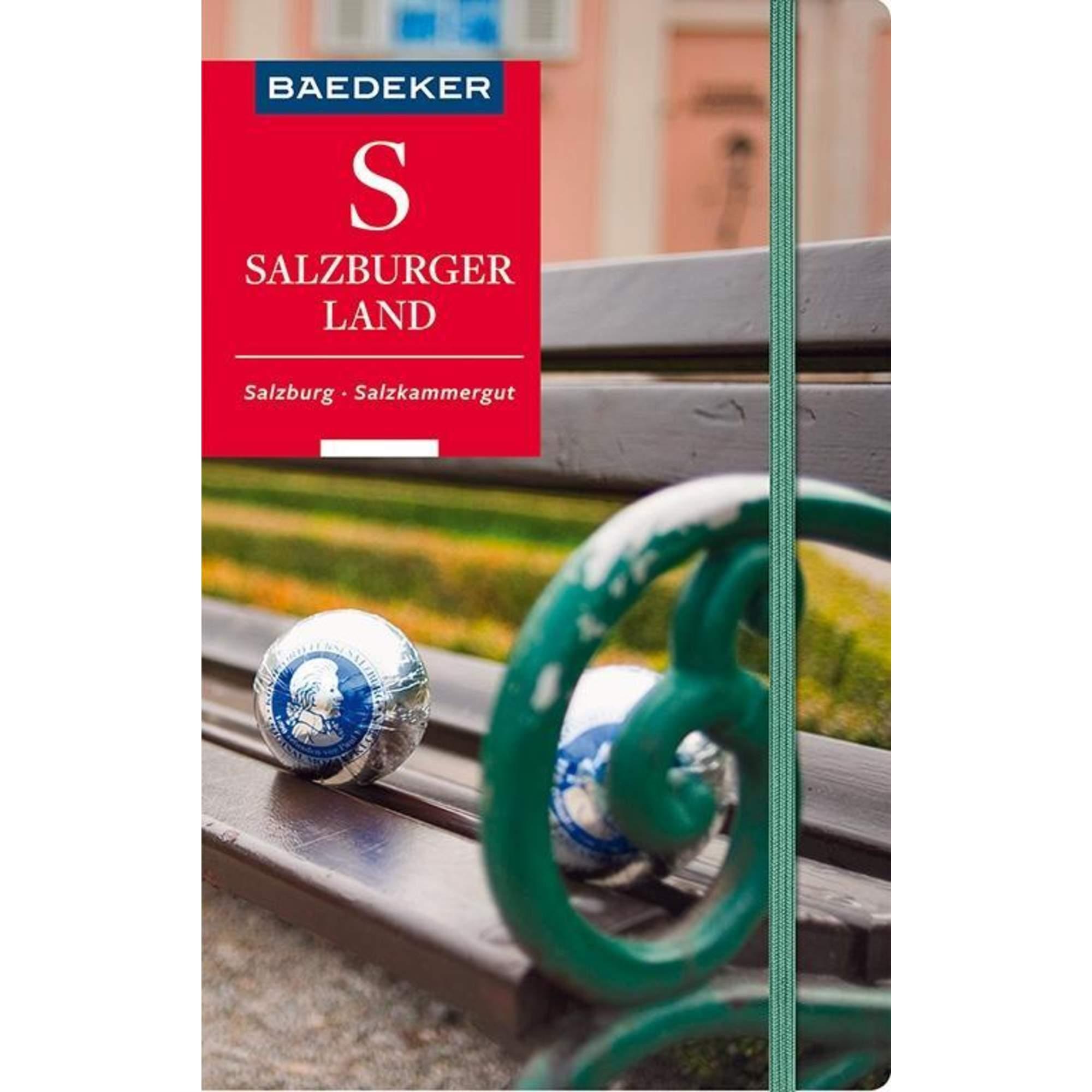 Baedeker Reiseführer Salzburger Land, Salzburg, Salzkammergut, 21,99 Euro