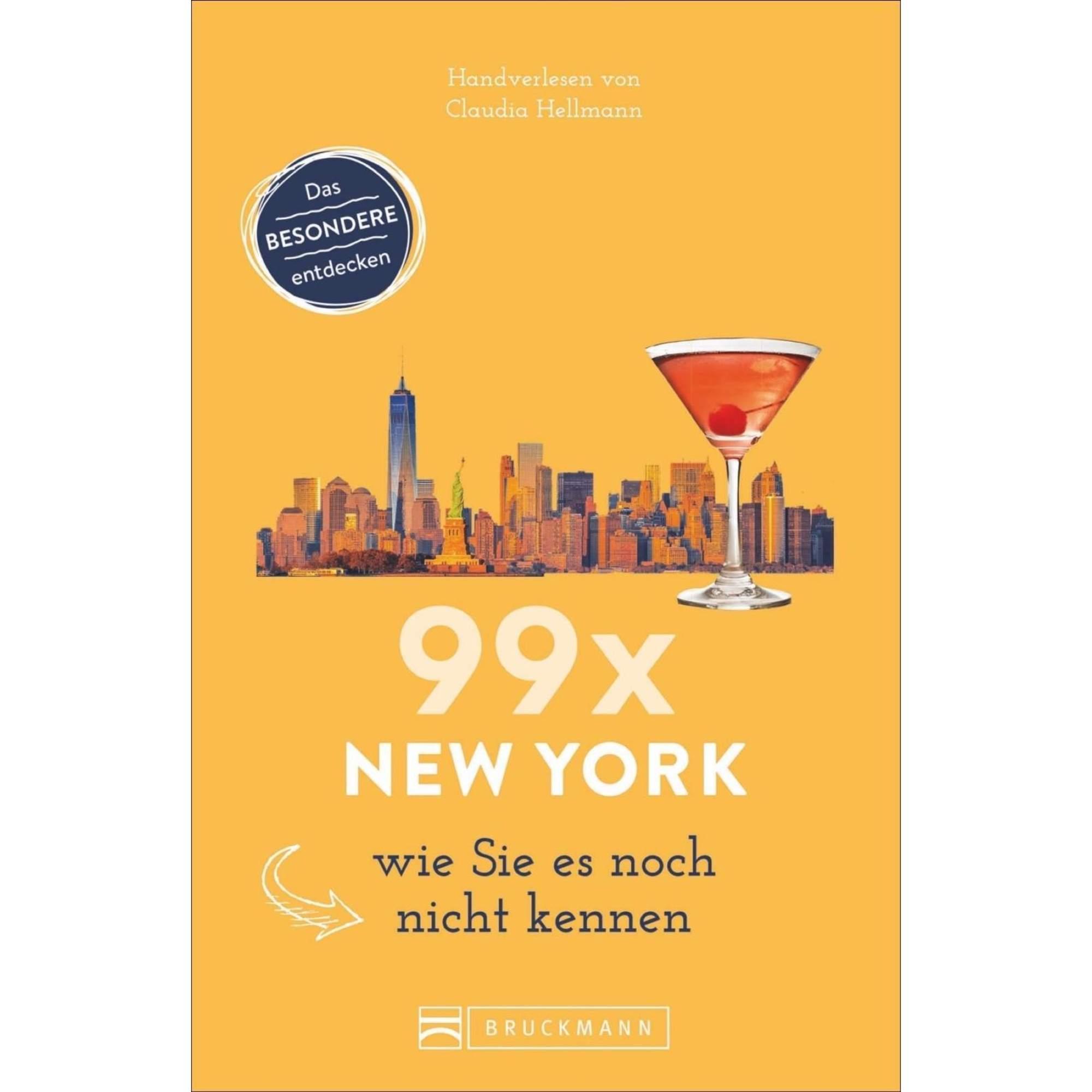 99 x New York wie Sie es noch nicht kennen, 14,99 Euro