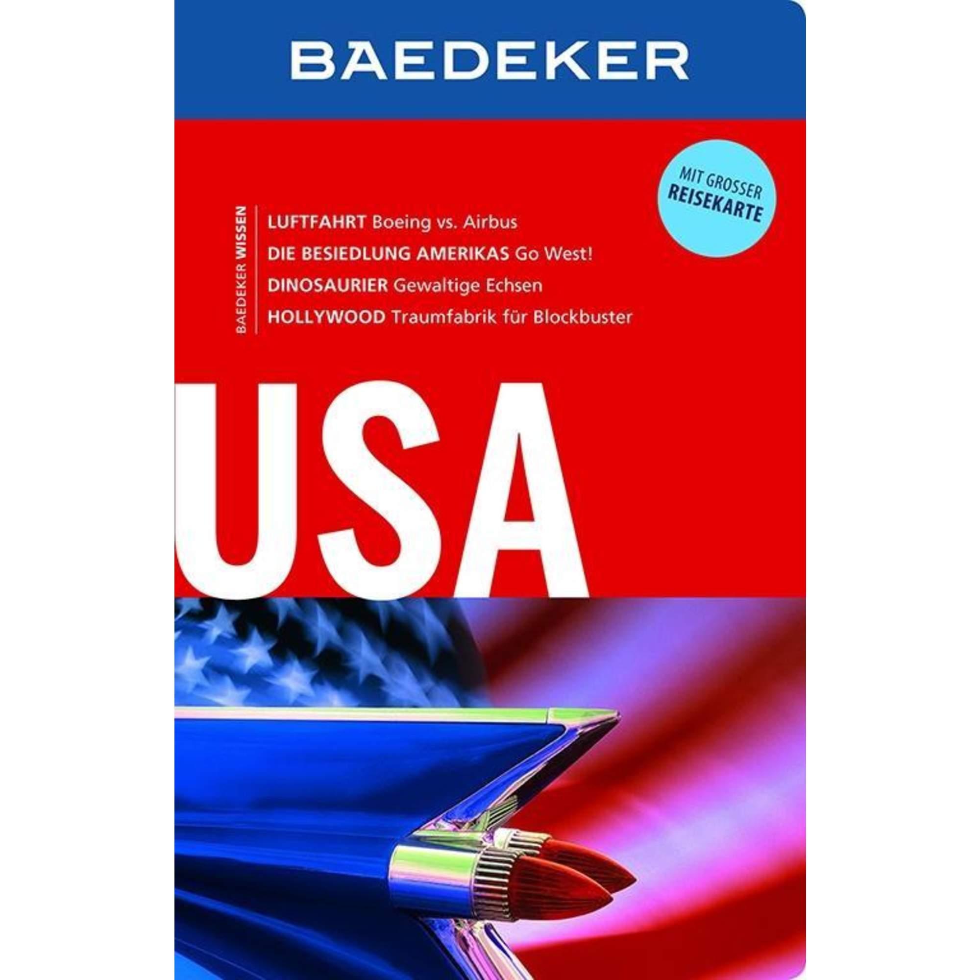 Baedeker Reiseführer USA, 28,99 Euro