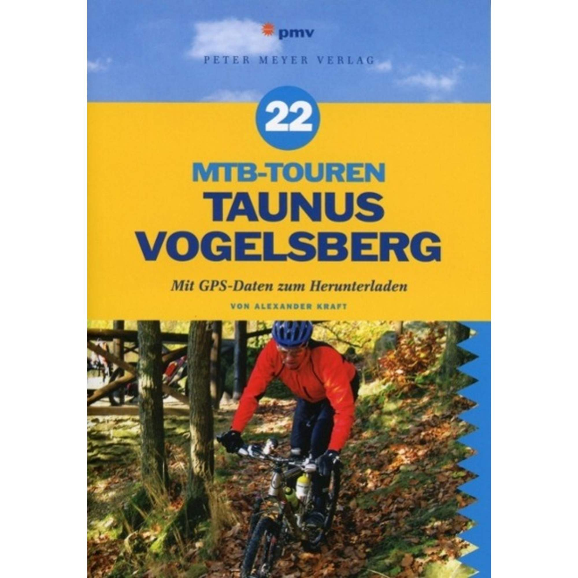 22 MTB-Touren Taunus Vogelsberg, 18,00 Euro