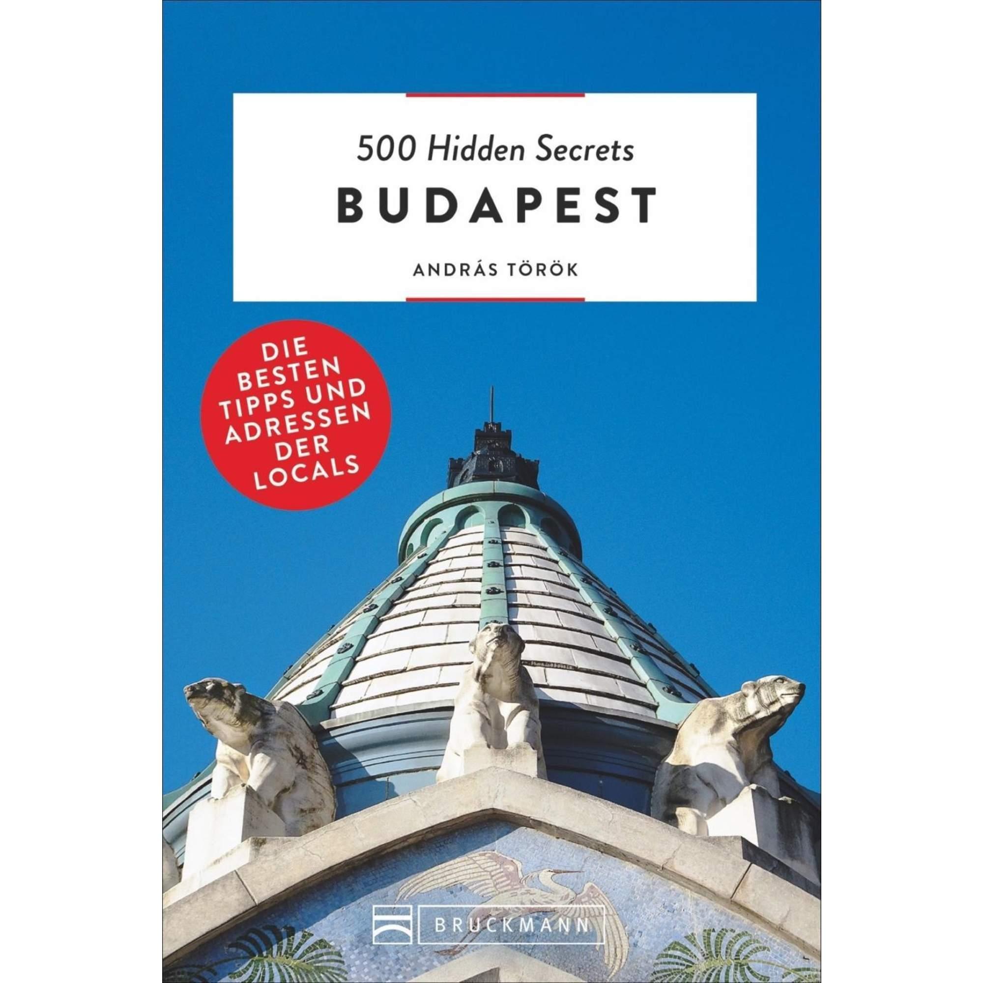 500 Hidden Secrets Budapest, 16,99 Euro