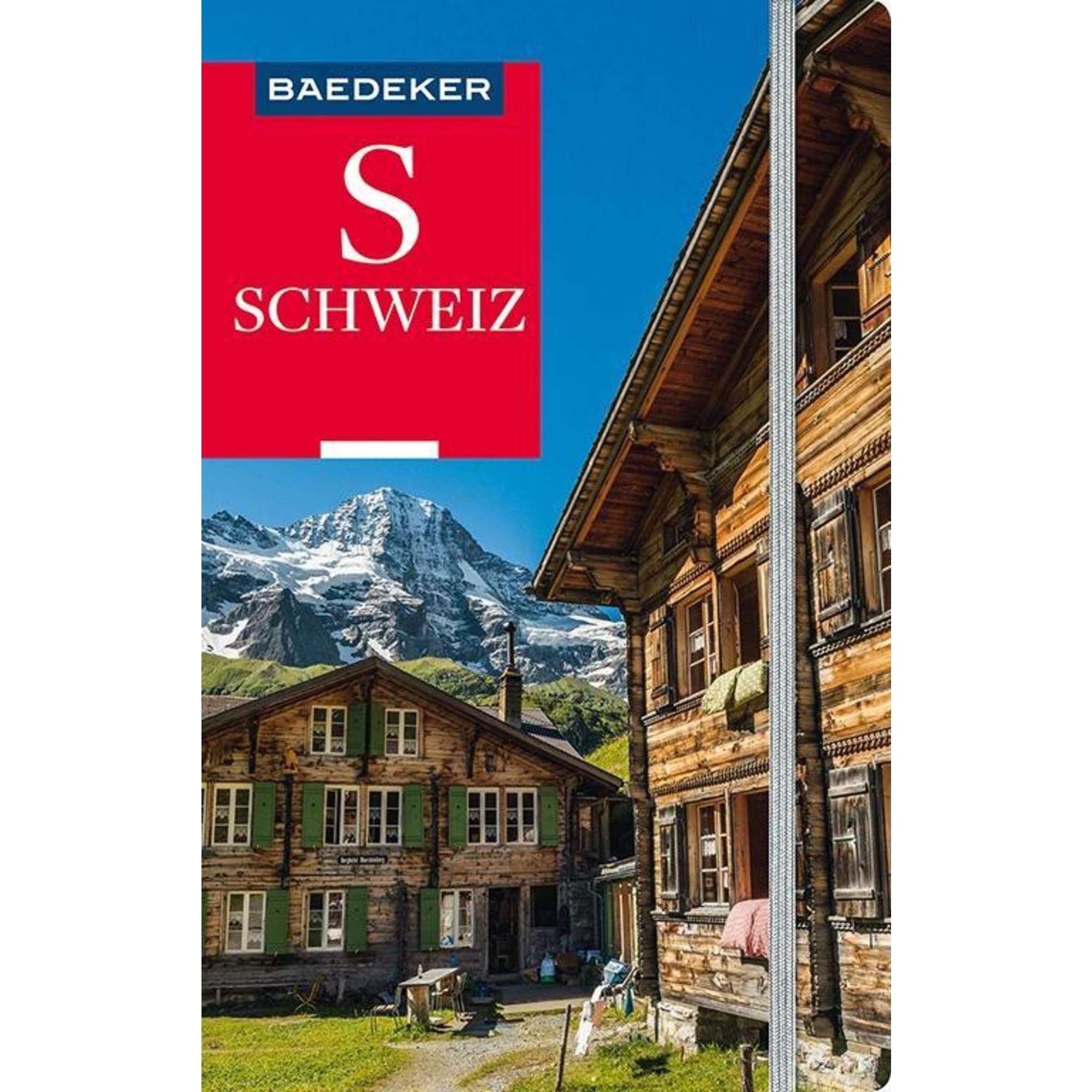 Baedeker Reiseführer Schweiz, 27,00 Euro