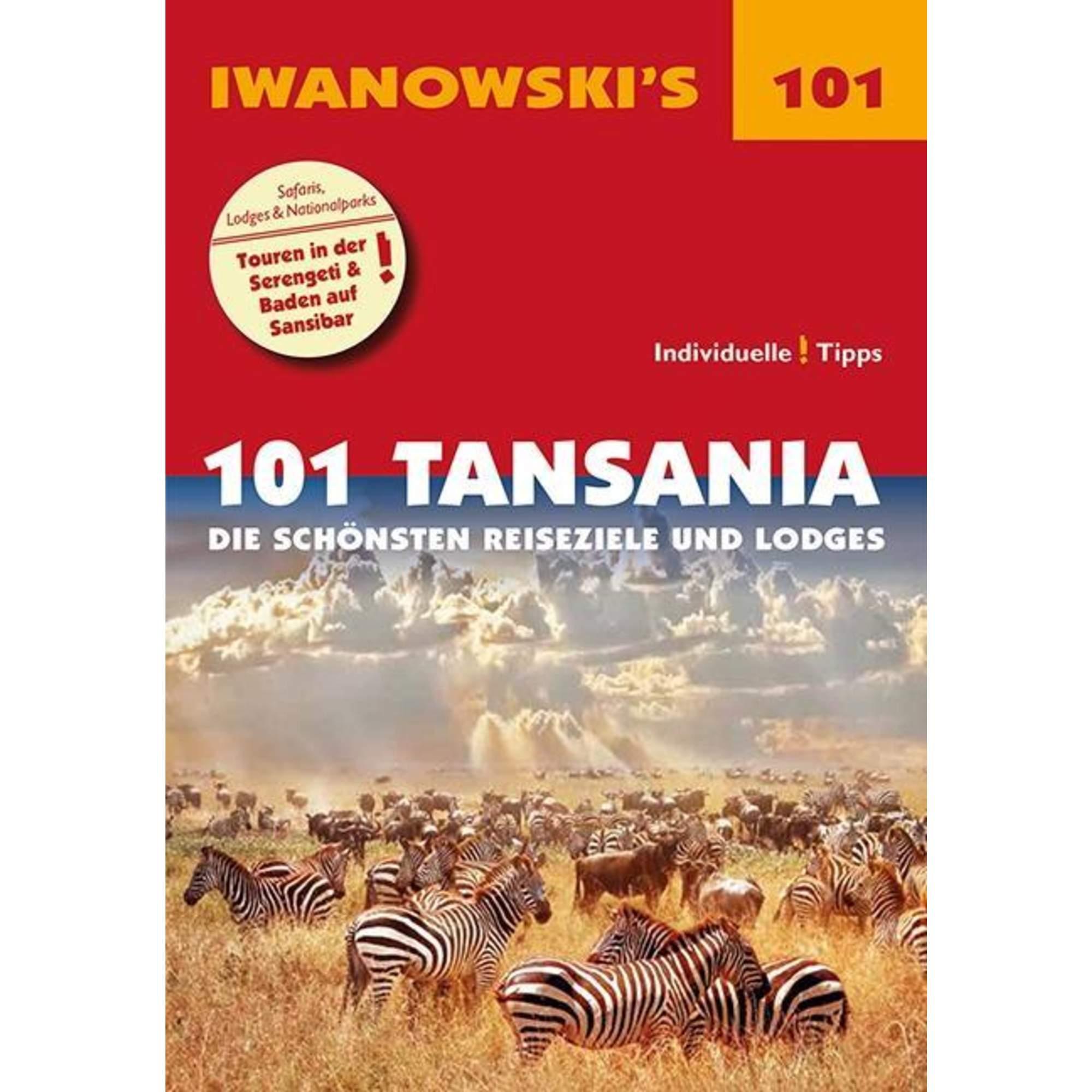 101 Tansania - Reiseführer von Iwanowski, 14,95 Euro